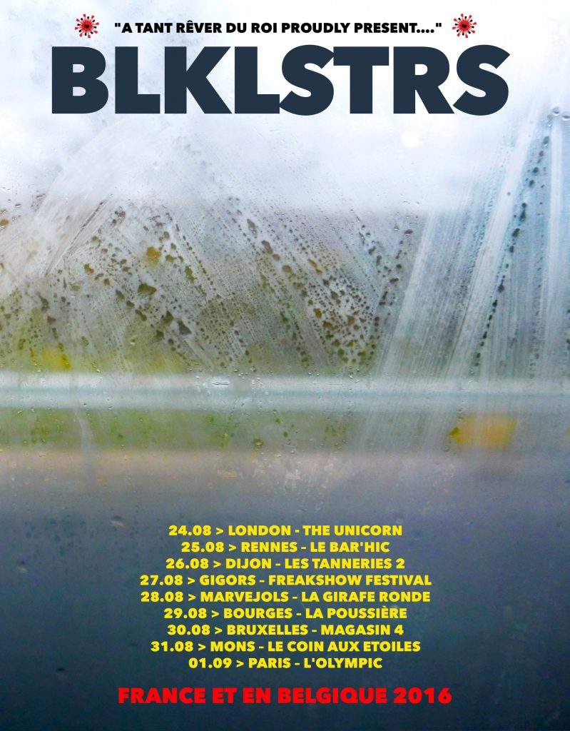 blacklisters tour poster NEW copy